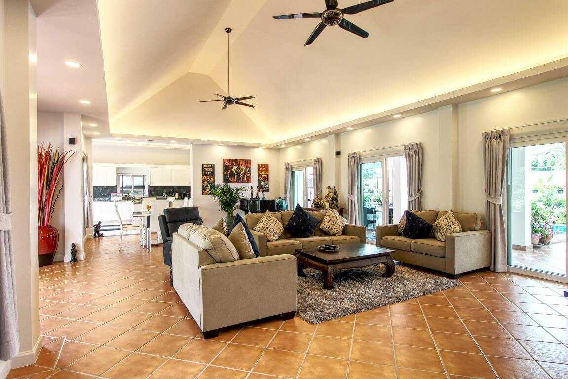 Baan Suan Living Room 4